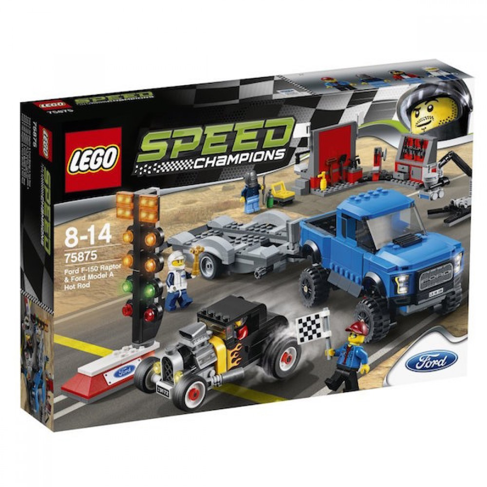 new lego speed champions ford f 150 raptor ford model a. Black Bedroom Furniture Sets. Home Design Ideas