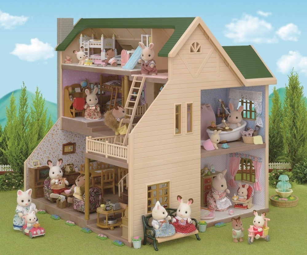 Ha 35 Hill of Sylvanian Families House Epoch from Japan F ...