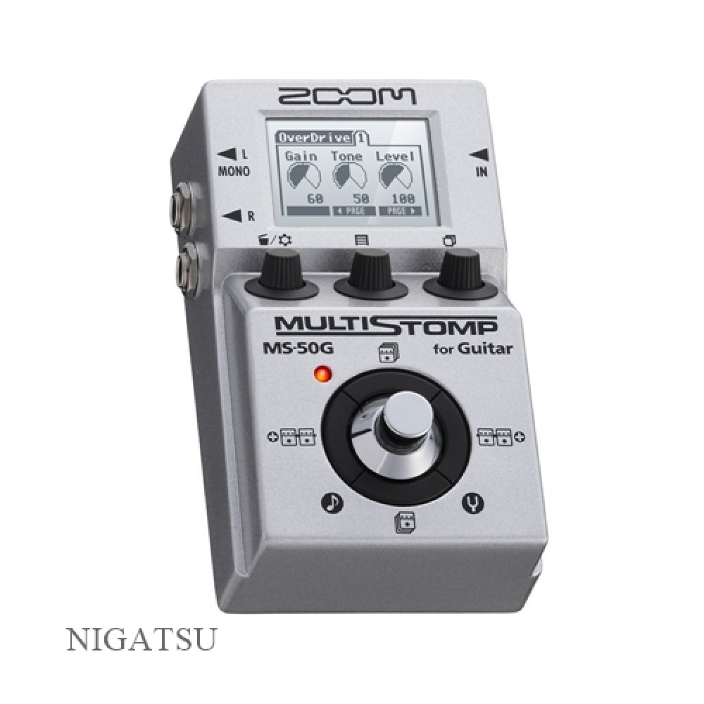 new zoom ms 50g multi stomp multi effects guitar pedal from japan 884354010980 ebay. Black Bedroom Furniture Sets. Home Design Ideas