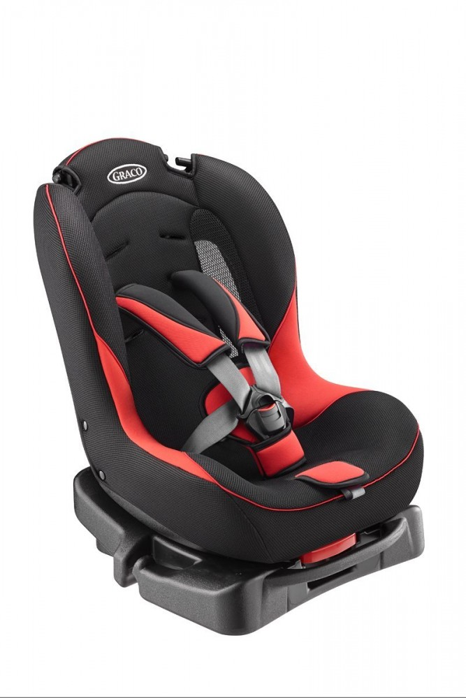 graco child seat g flow red reclining fluffy cushion 67194 baby seat car japan ebay. Black Bedroom Furniture Sets. Home Design Ideas