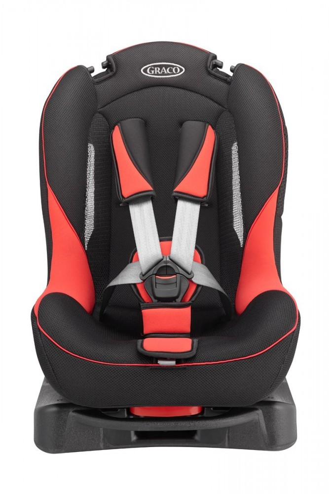 graco child seat g flow red reclining fluffy cushion 67194. Black Bedroom Furniture Sets. Home Design Ideas