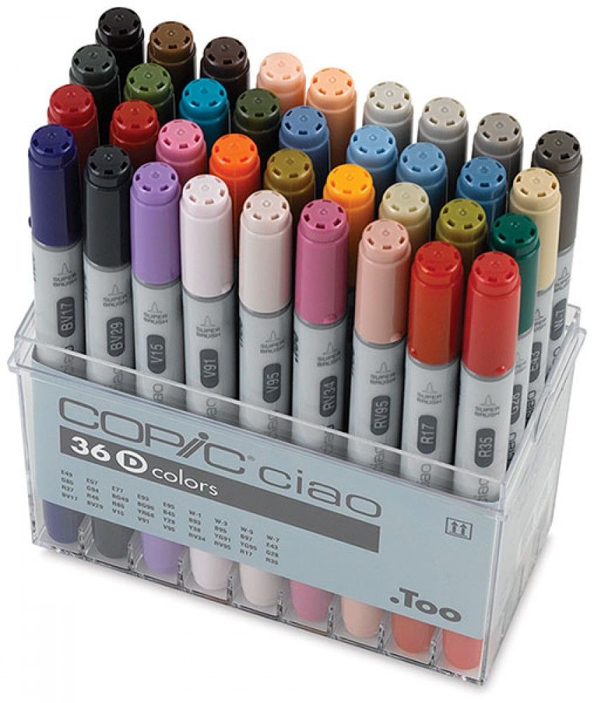 how to choose copic marker colors