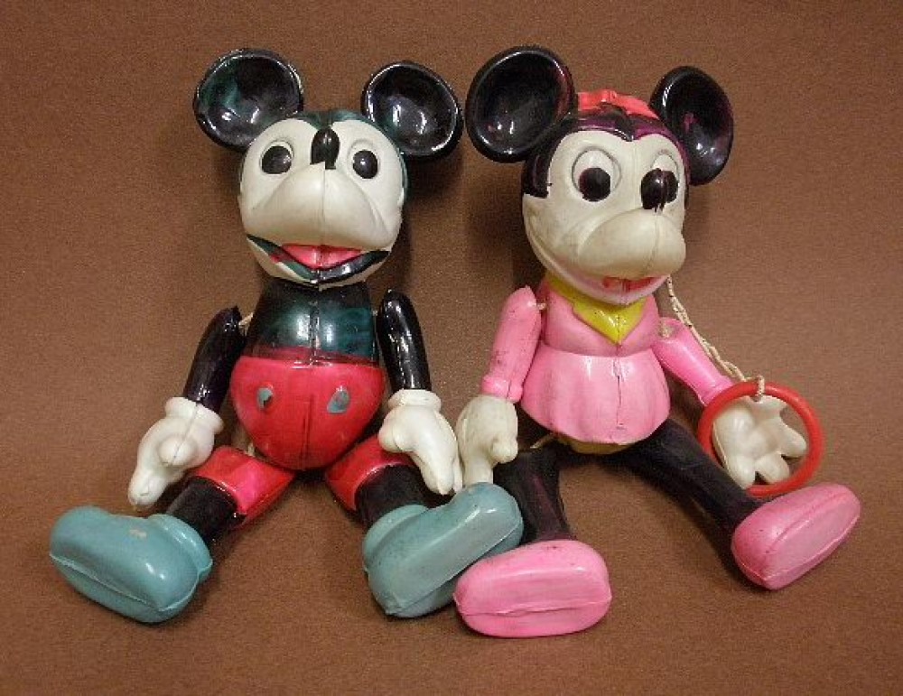Mickey Mouse Toys : Vintage toy s celluloid toys mickey mouse minnie