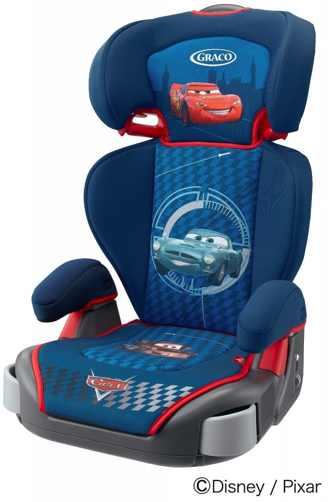 new graco junior maxi plus child booster seat washable cover disney cars japan. Black Bedroom Furniture Sets. Home Design Ideas