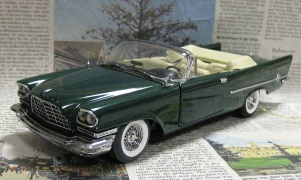 Out of print / Franklin Mint 1/24 1957 Chrysler 300C ...