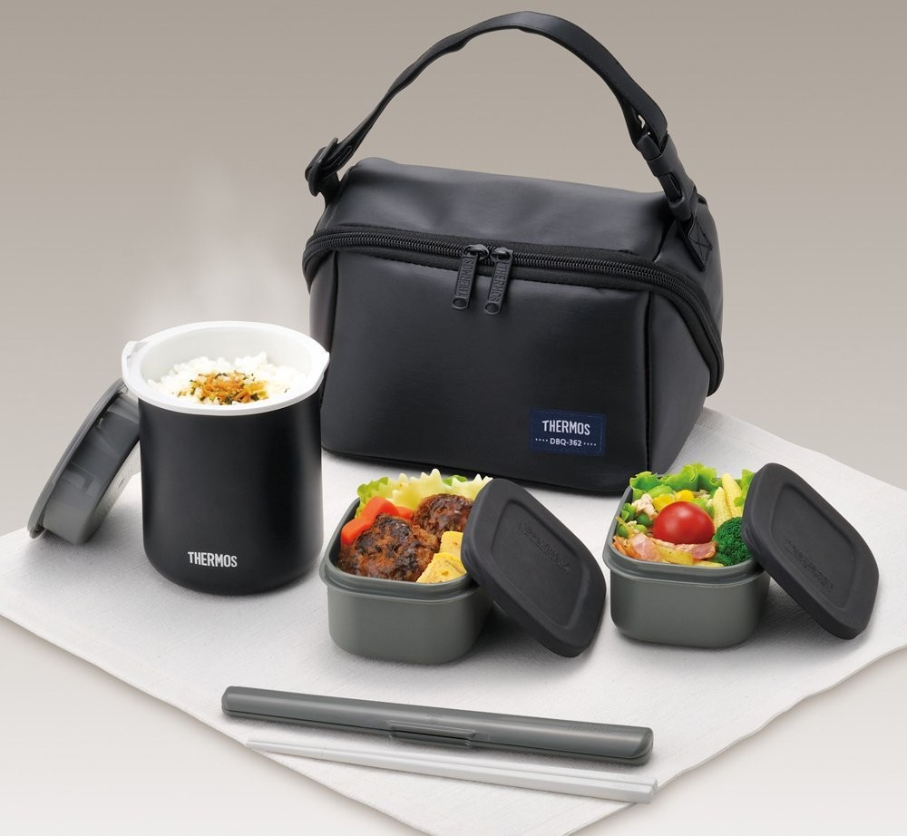 THERMOS Thermal Heat insulation Lunch Box container ...