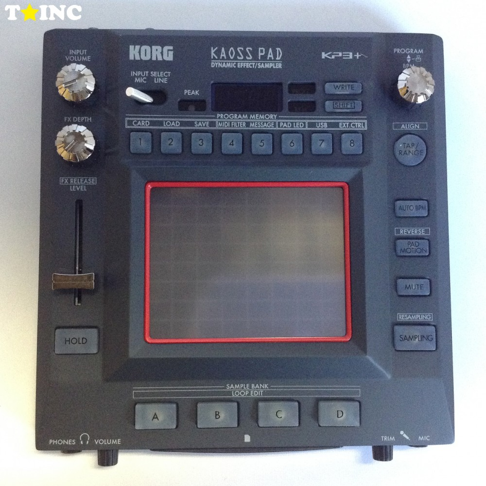new korg kaoss pad 3 plus kp3 dynamic dj effect sampler ebay. Black Bedroom Furniture Sets. Home Design Ideas