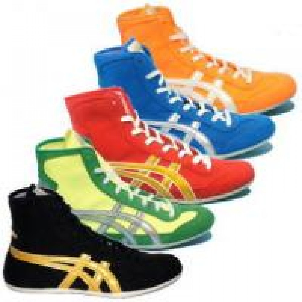 New ASICS Wrestling Boxing Shoes EX-EO from JAPAN F/S