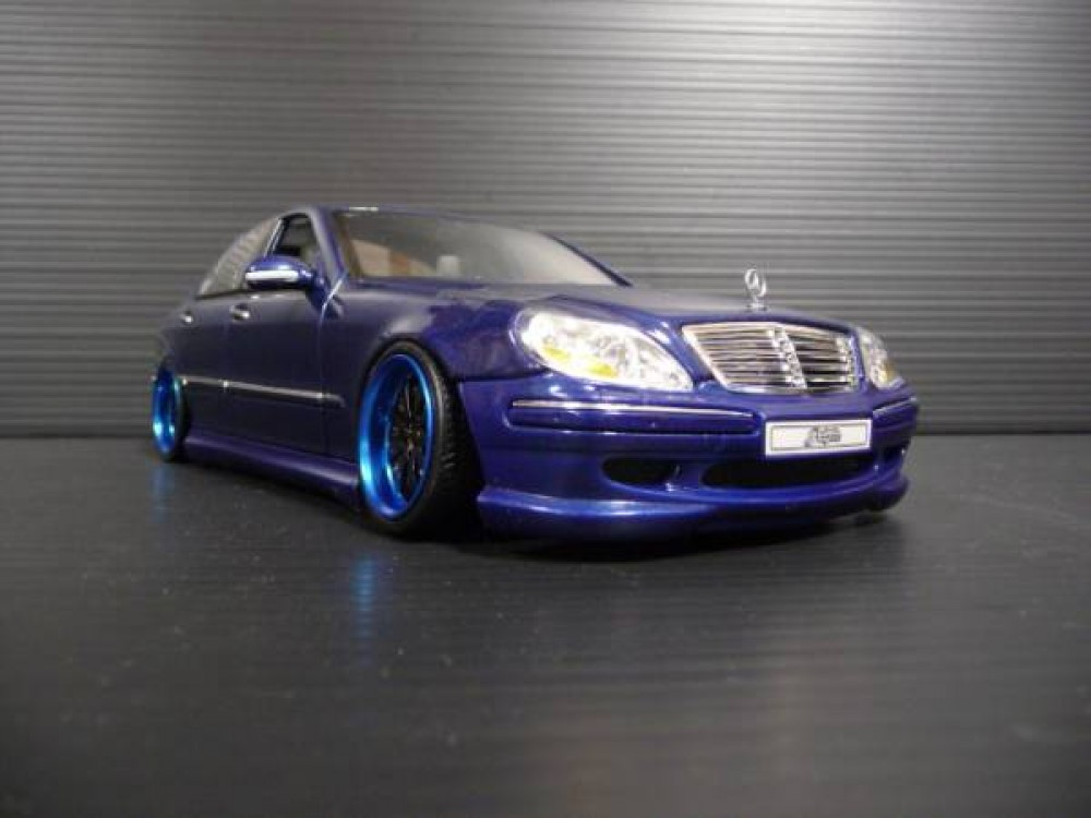 1 18 mercedes benz s class w220 amg custom ebay for Mercedes benz s550 car cover