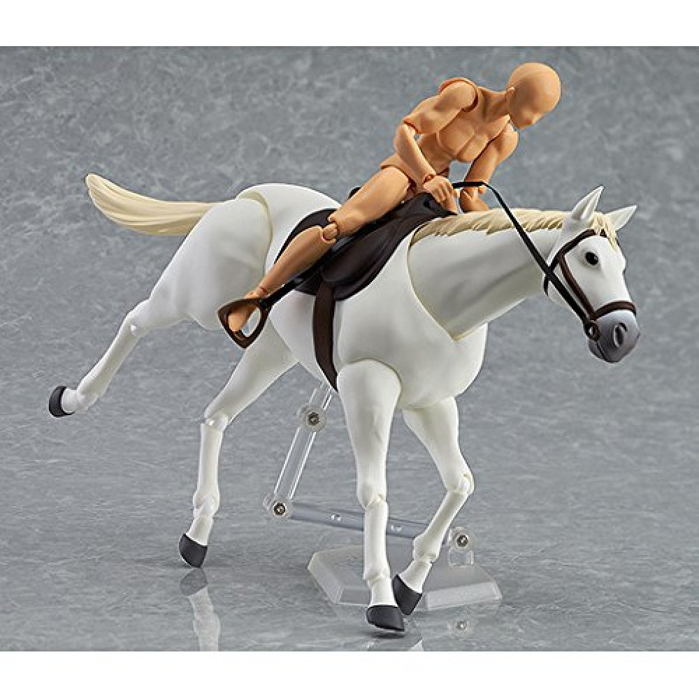 Max Factory Horse (White) Figma Action Figure With
