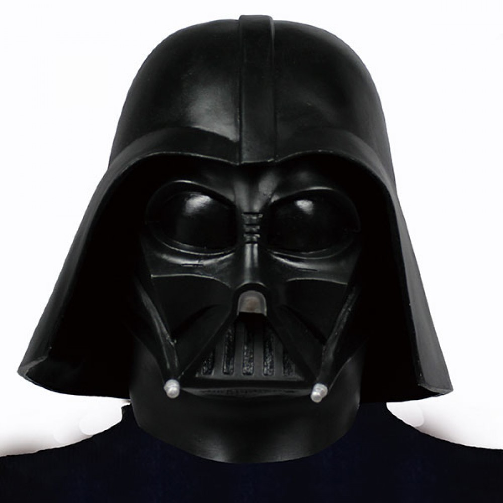 star wars darth vader rubber mask cosplay party toy halloween made in japan - Halloween Darth Vader