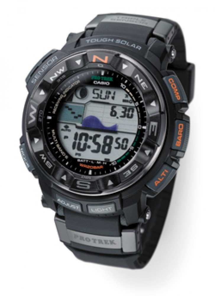 CASIO watches PROTREK Tough Solar MULTIBAND 6 PRW-2500-1JF Men