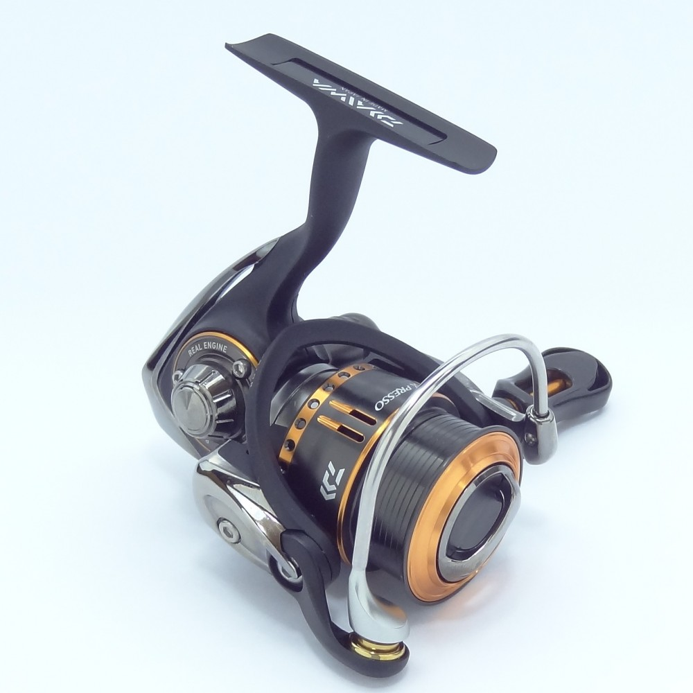 Daiwa 2014 presso 1025 spinning reel new made in japan for Freshwater fishing reels