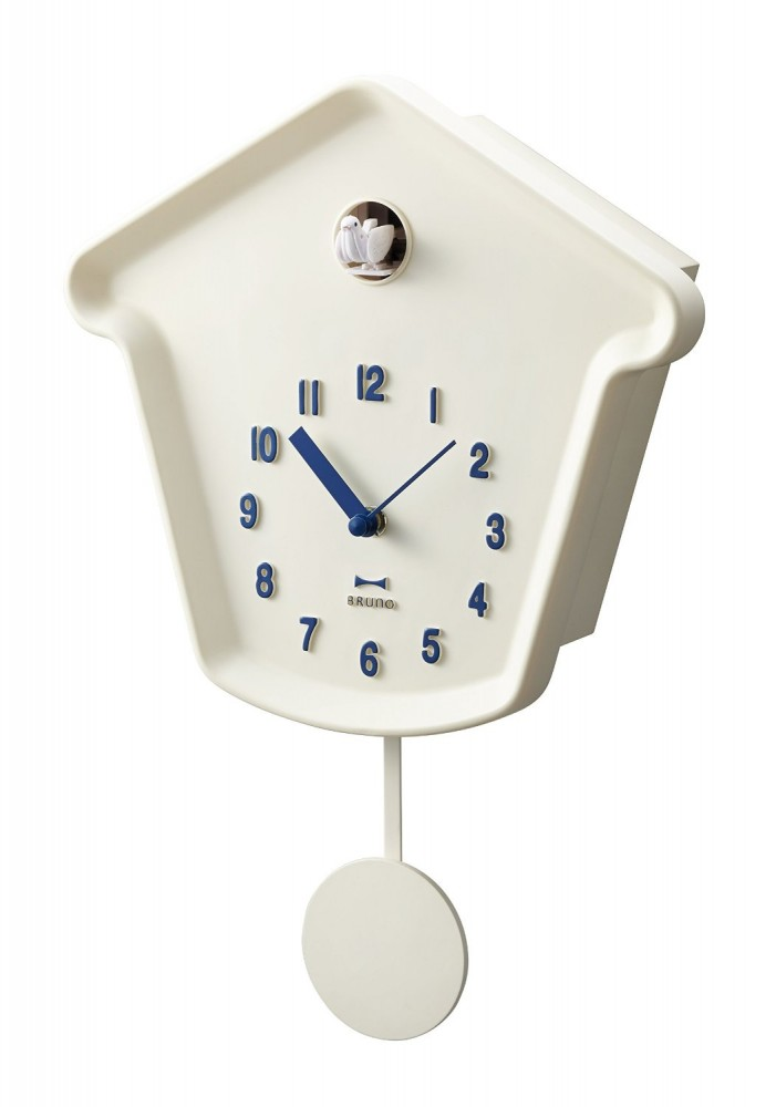 New bruno cuckoo clock rhythm wall pendulum clock bcw010 from japan ebay - Cuckoo pendulum wall clock ...