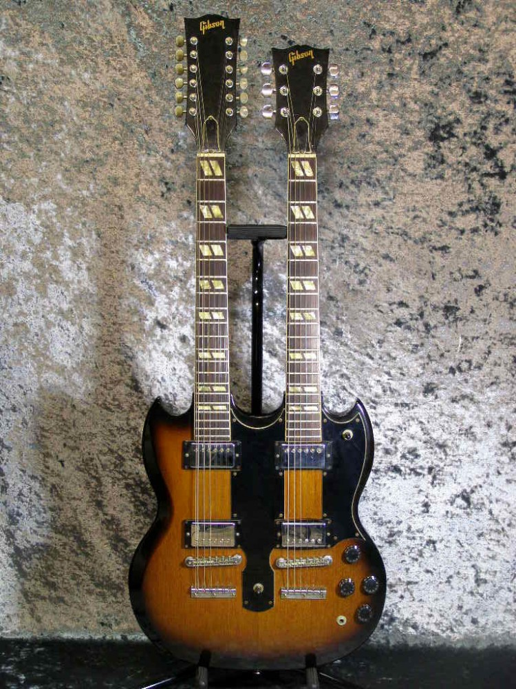 gibson eds 1275 39 79 electric guitar from japan 711106187815 ebay. Black Bedroom Furniture Sets. Home Design Ideas