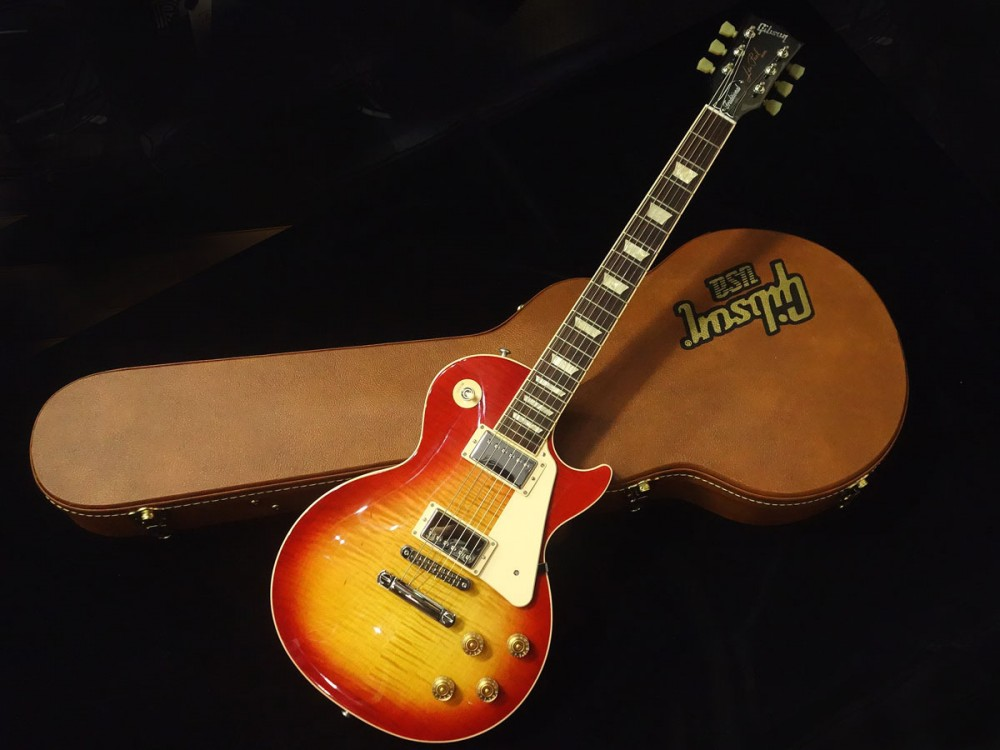 gibson les paul traditional premium finish 2016 t heritage cherry sunburst ebay. Black Bedroom Furniture Sets. Home Design Ideas