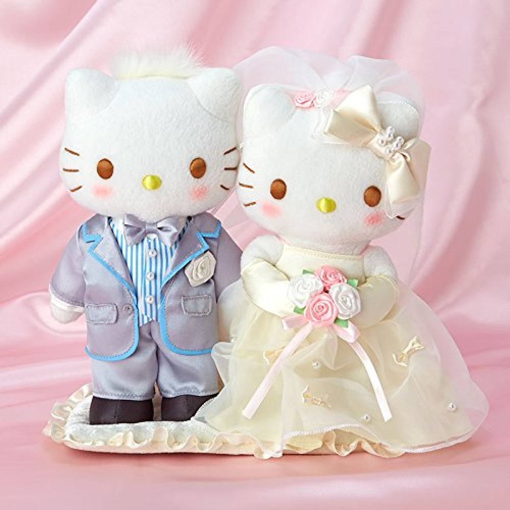 New Hello Kitty Hello Kitty & Dear Daniel Wedding Doll ...