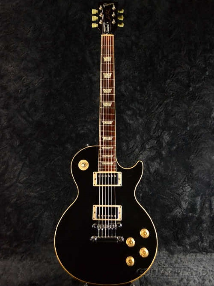 used gibson les paul standard ebony 1988 model electric guitar from japan. Black Bedroom Furniture Sets. Home Design Ideas