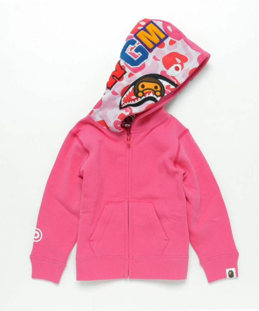 90s Baby Milo BAPE XL hoodie/ 100% cotton/made in japan/ green