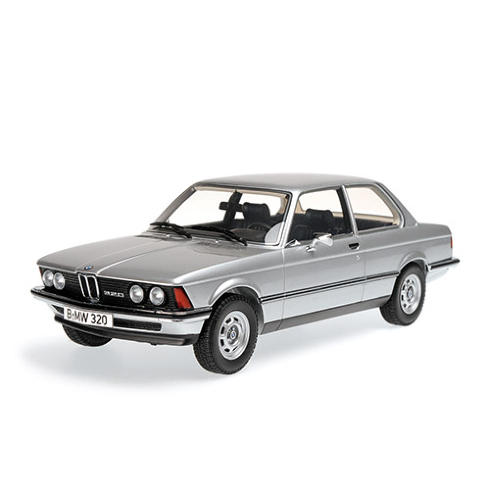 minichamps 1 18 bmw 320 e21 1978 silver ebay. Black Bedroom Furniture Sets. Home Design Ideas