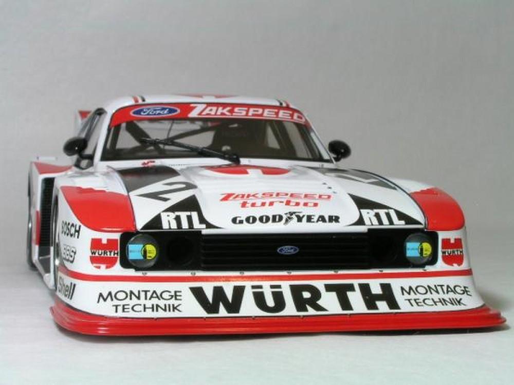 1 18 ford capri turbo gr 5 zakspeed ebay. Black Bedroom Furniture Sets. Home Design Ideas