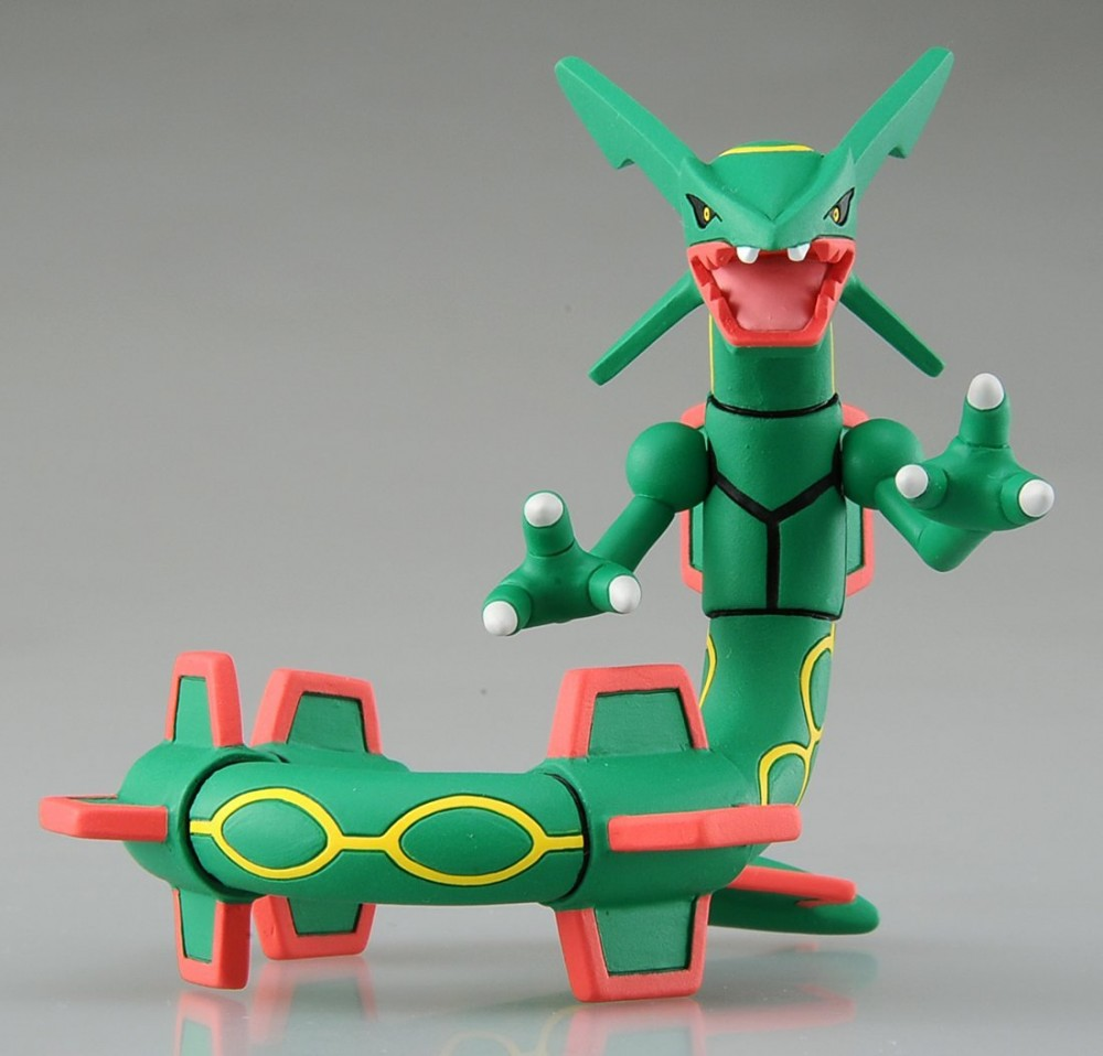 Pokemon monsters collection hp 04 rayquaza action figure - Lego pokemon rayquaza ...