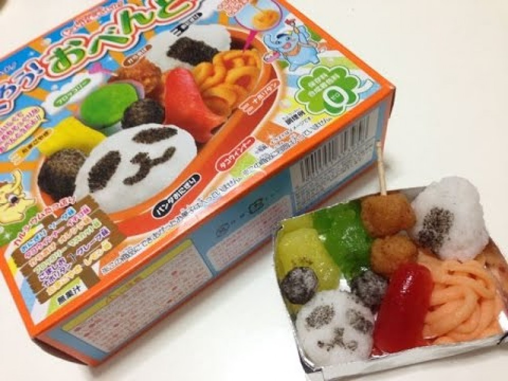 kracie popin cookin happy kitchen bento lunch box diy candy kit happy kitchen ebay. Black Bedroom Furniture Sets. Home Design Ideas