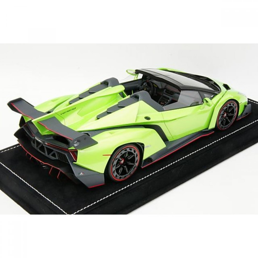 MR 1/18 Lamborghini Veneno Roadster Green limited 49 units ...