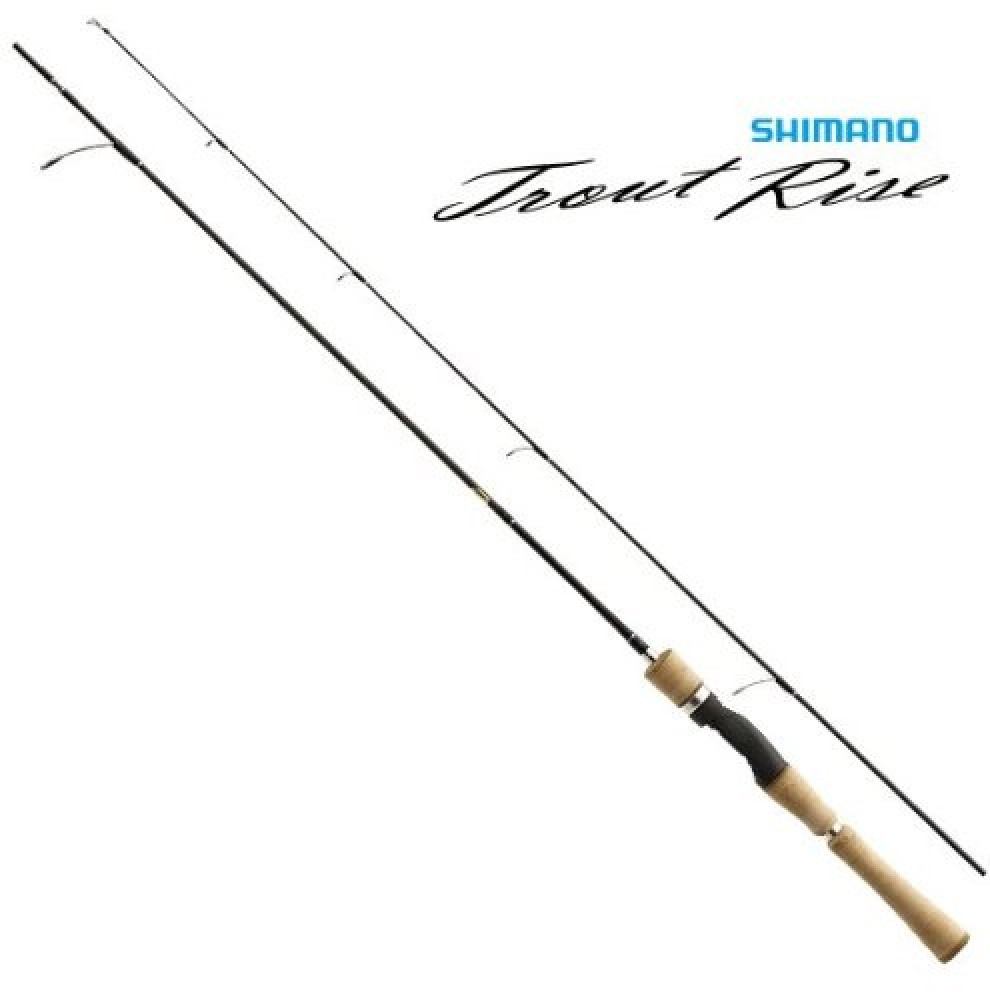 shimano trout rise 63sul / trout fishing spinning rod ultra light, Fly Fishing Bait