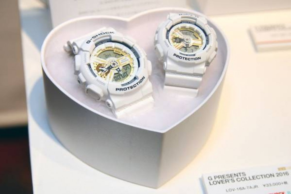 Casio G-SHOCK Baby-G G PRESENTS LOVER'S COLLECTION 2016 LOV-16A-7AJR ...