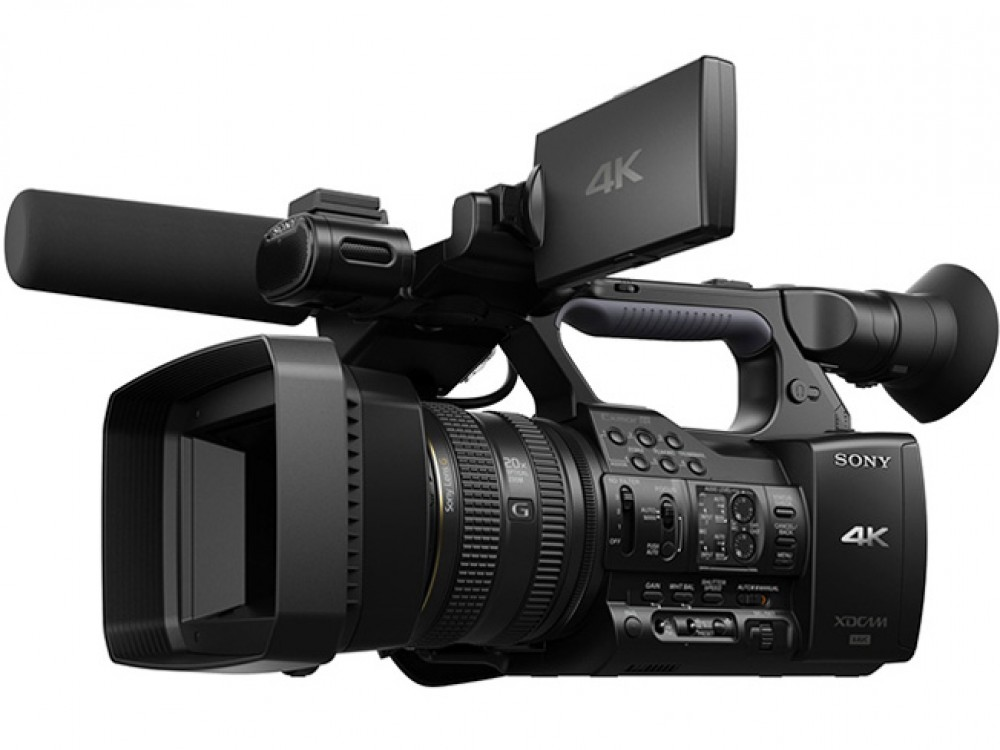 new sony 4k pxw z100 xavc camcorders video camera professional ebay. Black Bedroom Furniture Sets. Home Design Ideas