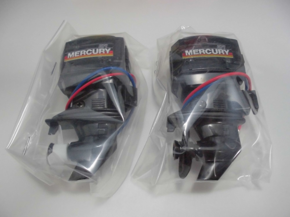 Mercury Outboard Motor Mitsuwa Type A B Set Japan Toy Ship