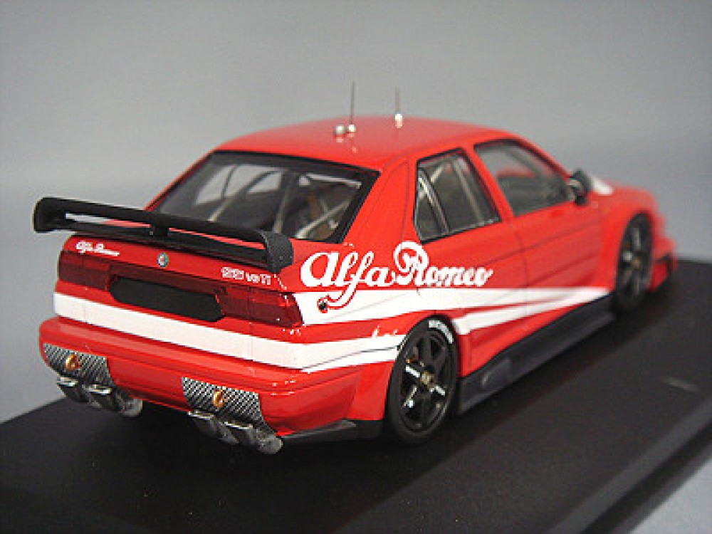 hpi 1 43 alfa romeo 155 v6 ti 1993 dtm vintage works decoration red japan ltd ebay. Black Bedroom Furniture Sets. Home Design Ideas