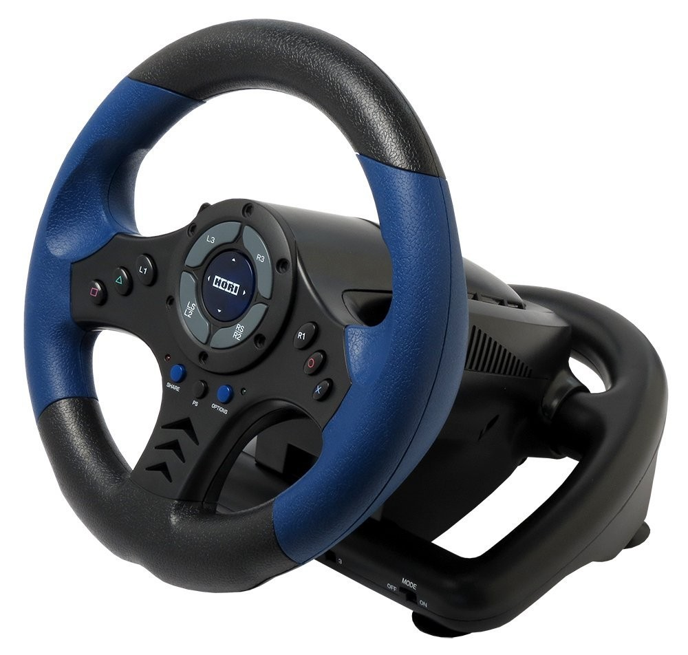 racing steering wheel for sony playstation 4 ps4 or ps3. Black Bedroom Furniture Sets. Home Design Ideas