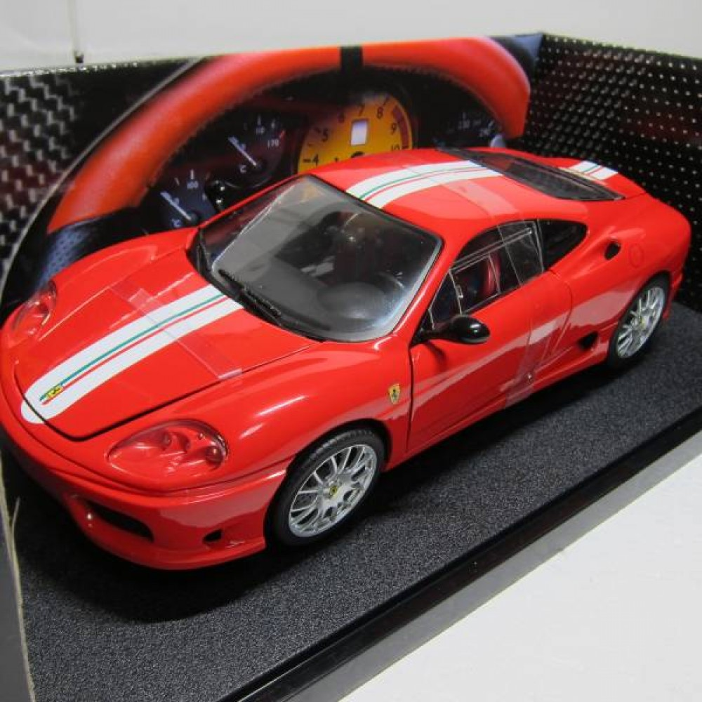 1 18 hot wheels ferrari 360 modena challenge stradale ebay. Black Bedroom Furniture Sets. Home Design Ideas