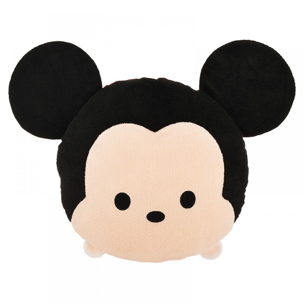 Disney Store Japan TSUM TSUM Mickey Mouse Face Pillow