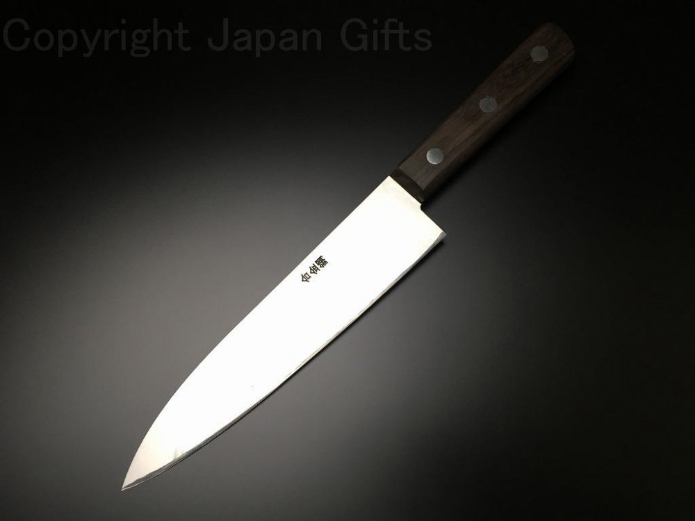 japanese aritsugu alloy steel gyuto kitchen chef knife 180 mm at155 ebay. Black Bedroom Furniture Sets. Home Design Ideas