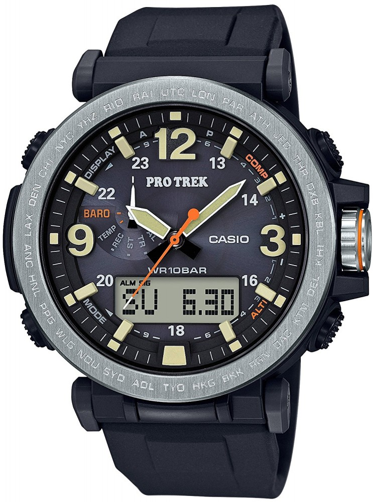 CASIO PROTREK PRG-600-1JF Solar Type Watches from Japan