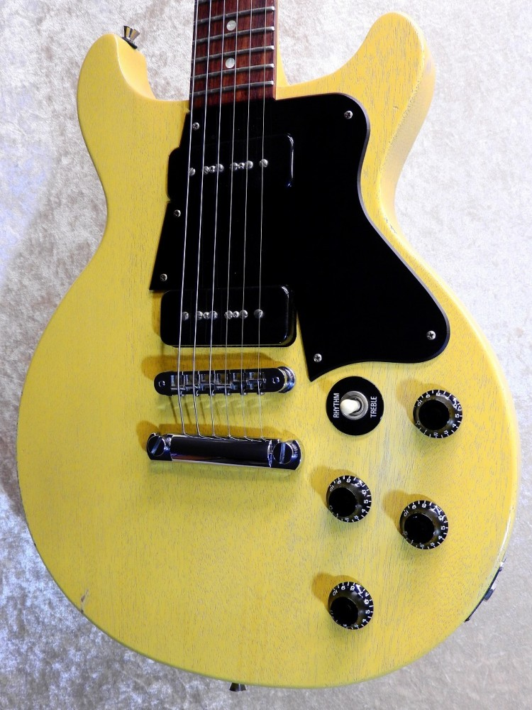 gibson les paul junior special double cut tv yellow 39 05 guitar w gigbag 456 ebay. Black Bedroom Furniture Sets. Home Design Ideas