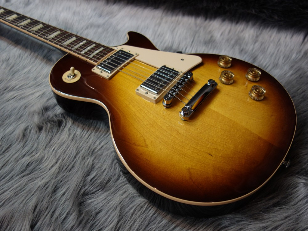 gibson les paul traditional plain top 2016 limited tobacco burst from japan 512 ebay. Black Bedroom Furniture Sets. Home Design Ideas