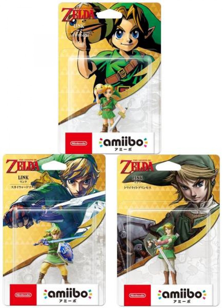 NEW Amiibo Legend of Zelda Link Majora's Mask Skyward Sword Twilight Princess | eBay