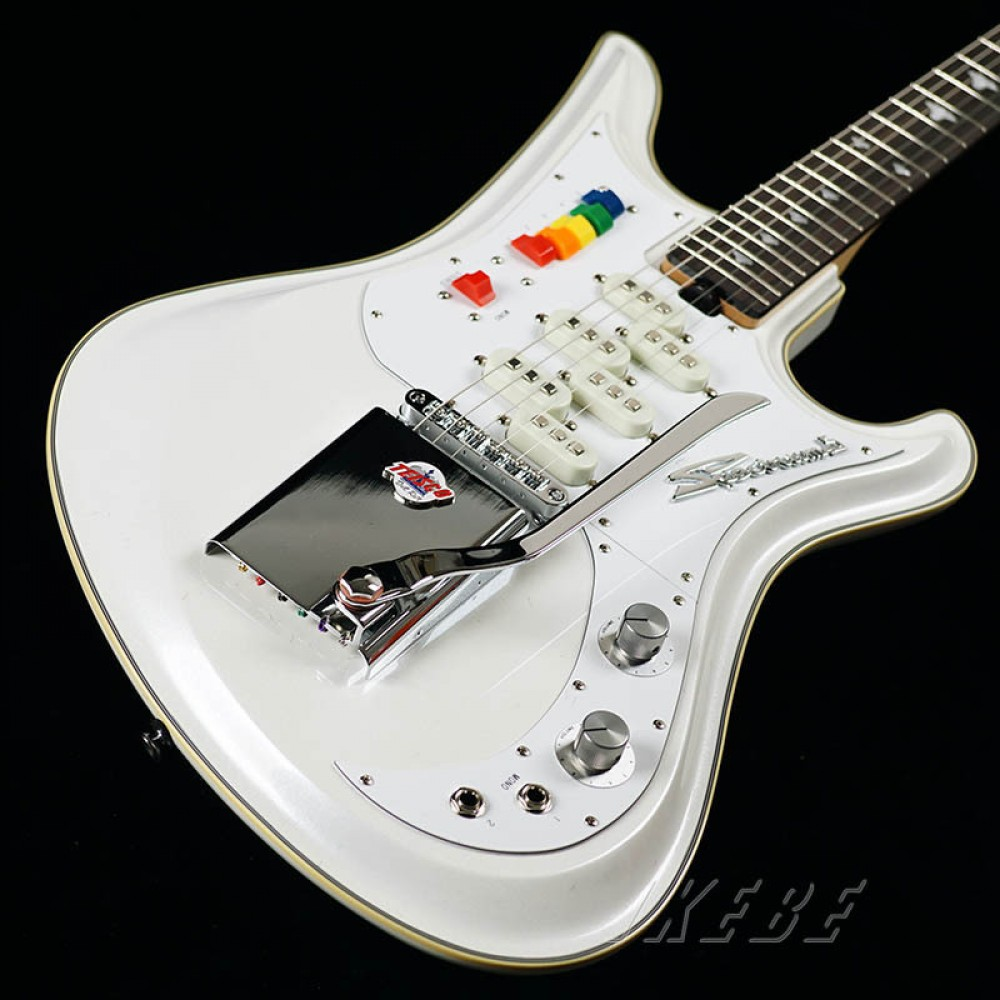 teisco ikebe original spectrum 5 pearl white guitar from japan ebay. Black Bedroom Furniture Sets. Home Design Ideas